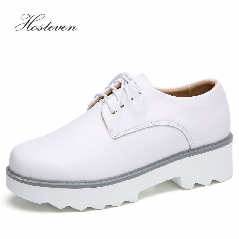 Hosteven Women's Shoes  Fashion Casual Woman Ladies Girls Driving Genuine Leather Flats Loafers Moccasins Shoes Large Size 35-40 pl us size 38 47 handmade genuine leather mens shoes casual men loafers fashion breathable driving shoes slip on moccasins