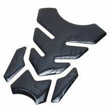 3D наклейки Tank Pad для Honda Yamaha Fishbone масляный газовый бак Pad Наклейка защитная крышка Украшение пламя Мотоцикл декоративные