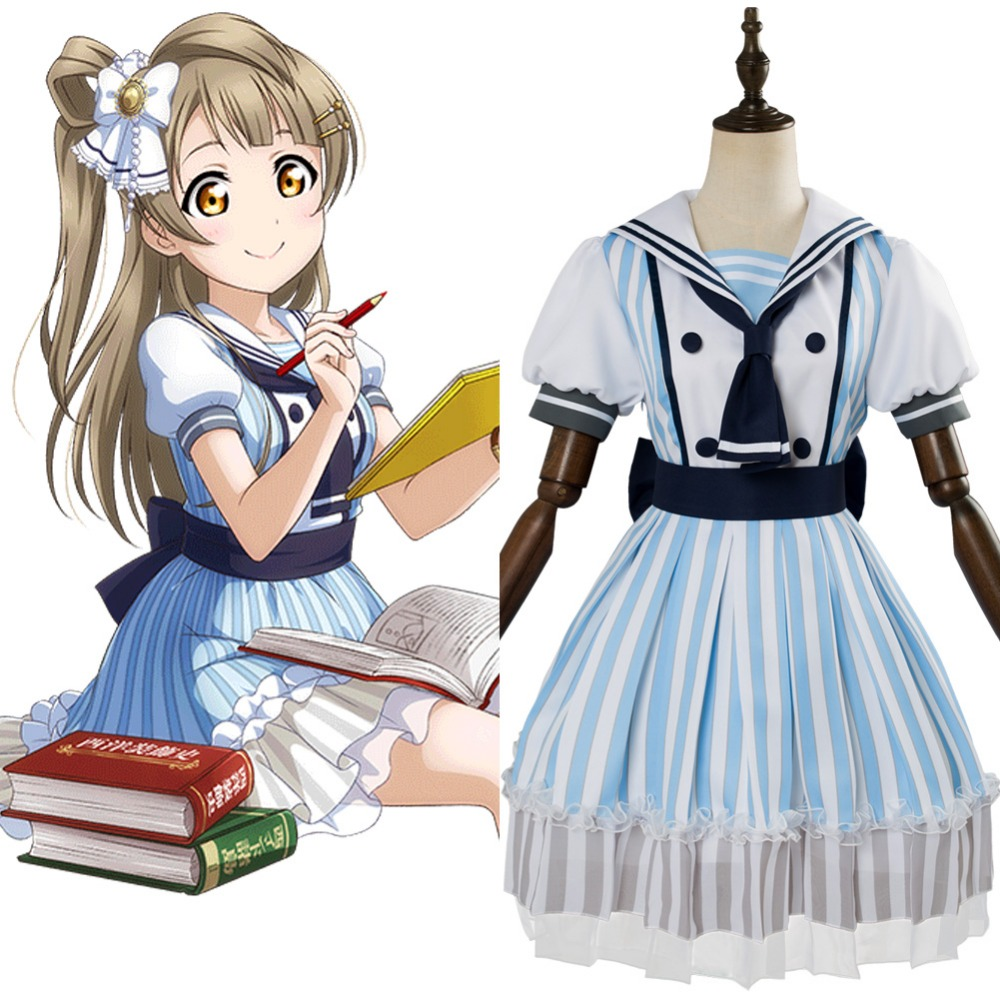 Love Live Pirate Cosplay Minami Kotori Cosplay Costume Pirate Ver SSR Adult Women Halloween Carnival Costumes Custom Made