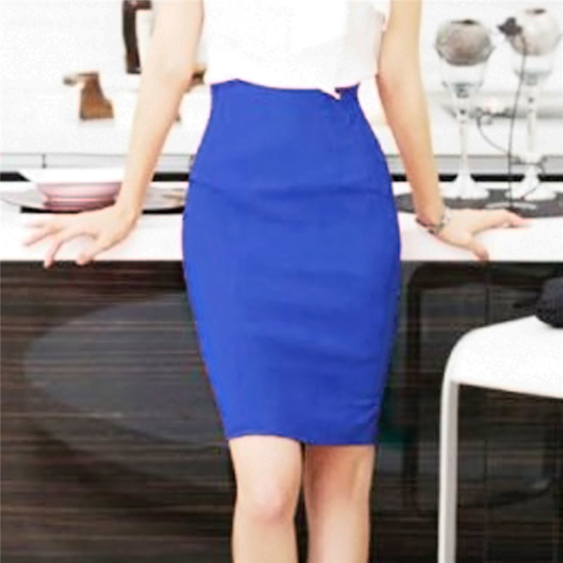 Online Get Cheap White Stretch Pencil Skirt -Aliexpress.com ...