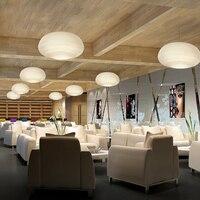 현대 led 펜 던 트 조명 거실 침실 다이닝 룸 금속 서 스 펜 션 디자이너 유리 공 모양 골드 화이트 광택 빛
