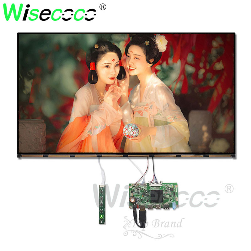 3840*2160 27 inch 4K IPS LCD slim LCM screen dispaly with 3 HDMI eDP controller board driver board cable for diy project