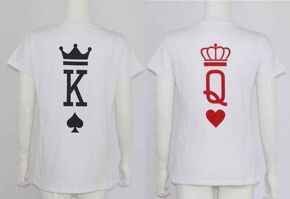 Su persona tiene que asegurarse sobre que antes de comprar un De moda de  Tumblr gráfica Poker Impresión de Rey reina corazón Streetwear camiseta de  verano ... f2edda86514