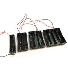1 Pcs 18650 Power Batterij Storage Case Box Houder Leads Met 1 2 3 4 Slots Drop Verzending