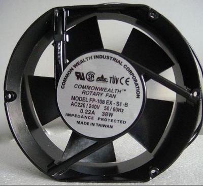 Taiwan ROTARY Fan FP-108EX-S1-S/B 17251 110V/220V/380V 38W Cabinet Cooling Fan