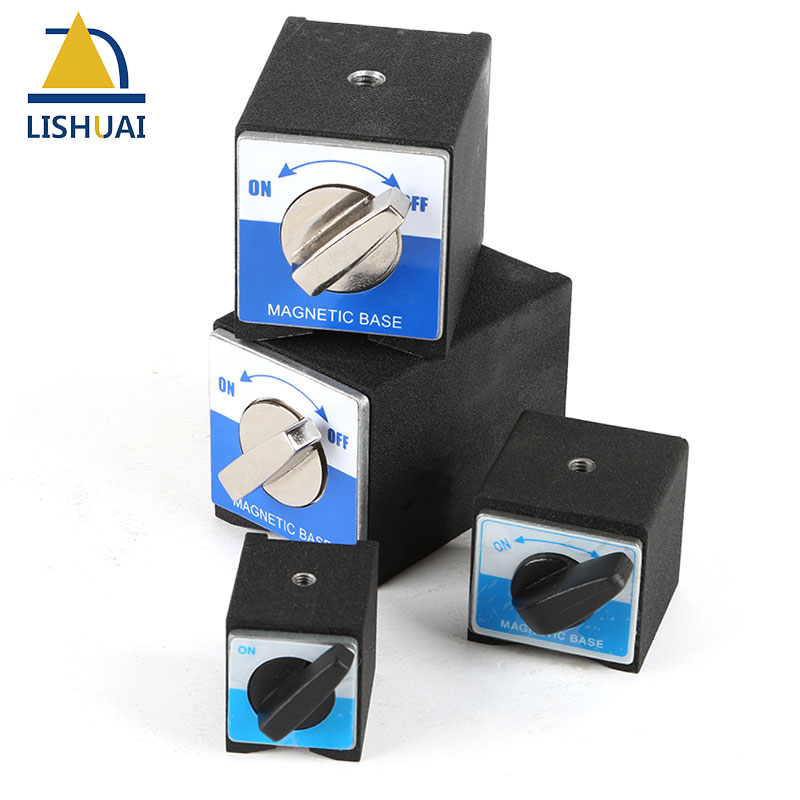 LISHUAI On/Off Magnetic Base Holder Switchable Neodymium Magnet Indicator Clamp 30kg/50kg/80kg/100kg
