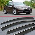 For Honda Accord MK9 2014 2015 2016 Window Wind Deflector Visor Rain/Sun Guard Vent