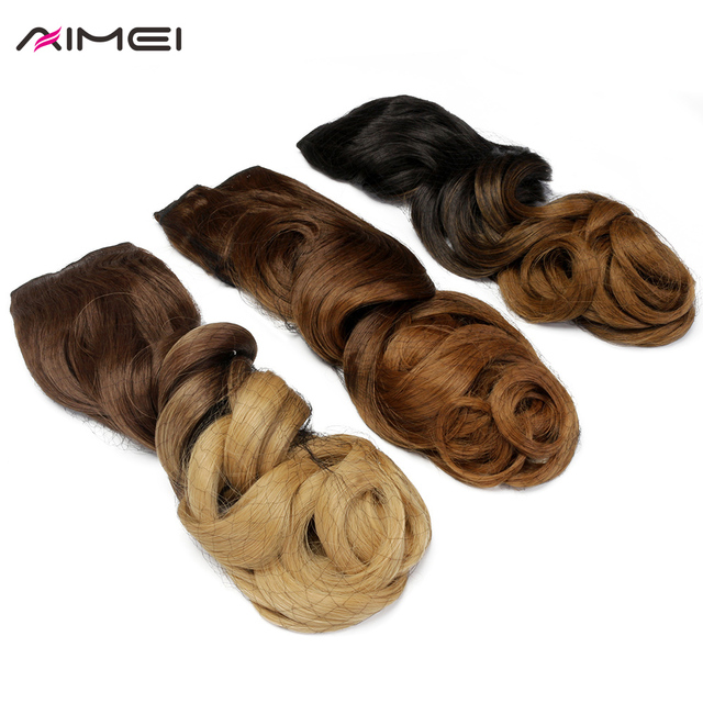 Aimei Synthetic One Piece Clip In Hair Extensions 24inch 60cm Long