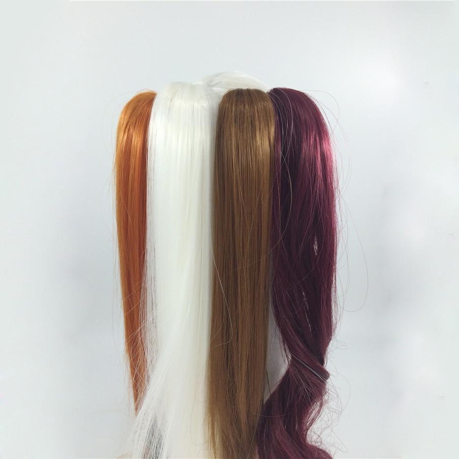 Bybrana Bjd Sd Doll Wig 1/3 Ponytail Doll Pony Tail