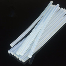 10pcs 7mmx100mm Hot Melt Gun Glue Sticks Plastic Sticks for Glue Gun