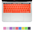 New Retina 15 EU Spanish Keyboard Skin Silicone Cover Sticker for New MacBook Pro 13 15 Retina with Touch Bar(2016 Oct. Release)