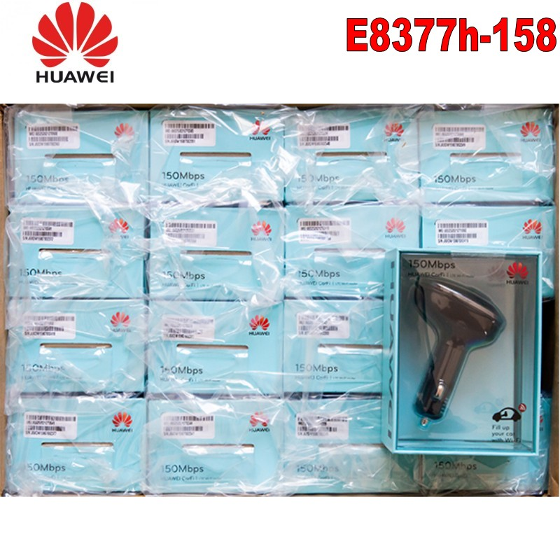 Huawei E8377s 158 HiLink CarFi 150 Mbps 4G LTE Router WiFi Hotspot for your car US