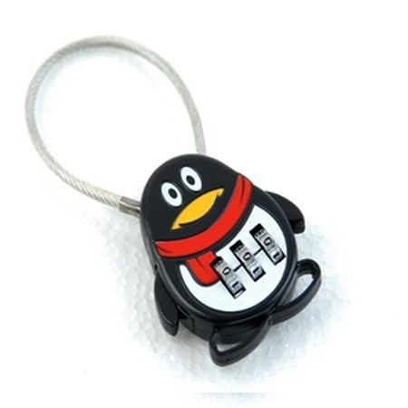 df1eb6bff5ba 1pc Cartoon Luggage lock Password Lock Fashion Mini Cute Cartoon cow ...