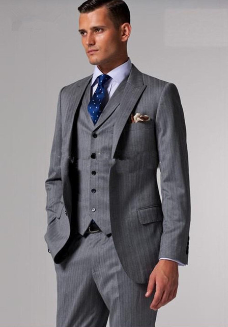 Groom Tuxedos Best Man Suit Wedding Suits Men Bridegroom