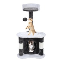(Ship From UK)65cm Climbing Frame Cat'S Tree 65cm Height Speed Pets Scratching Posts Animals Toys House Bed Furniture Great Gift