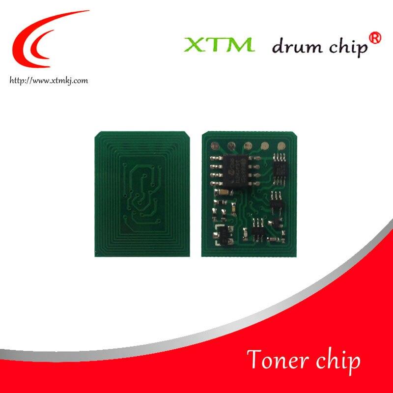 Compatible 43865708 43872307 43872306 43872305 toner color chip for OKI C5650 C5750 reset cartridge laser printer