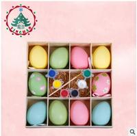 Brand New Fashion Wedding Supplies Easter Day EggS DIY Candy Egg