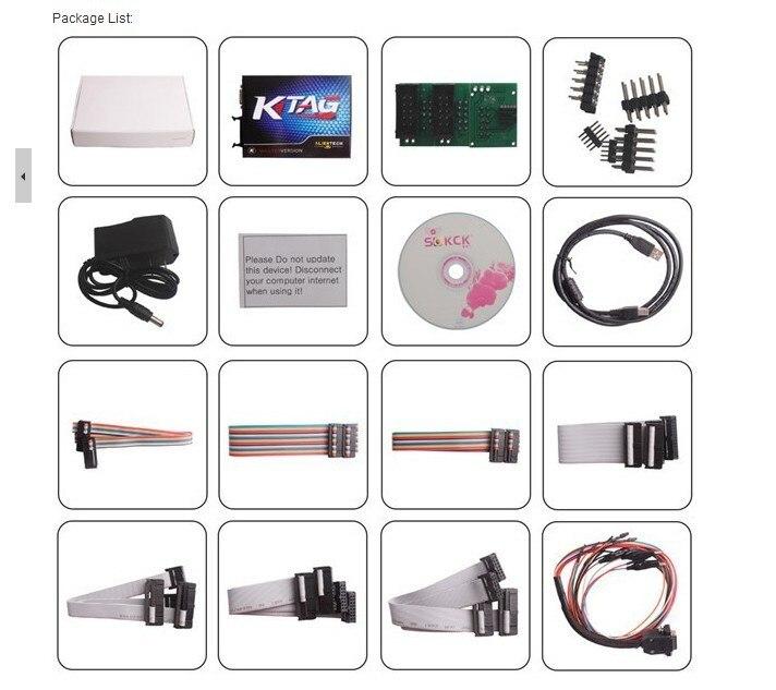 Цена по прейскуранту завода KTAG K-TAG инструмент для программирования ECU V1.89 KTAG K-TAG инструмент для настройки чипа с обновлением высокого качества по электронной почте