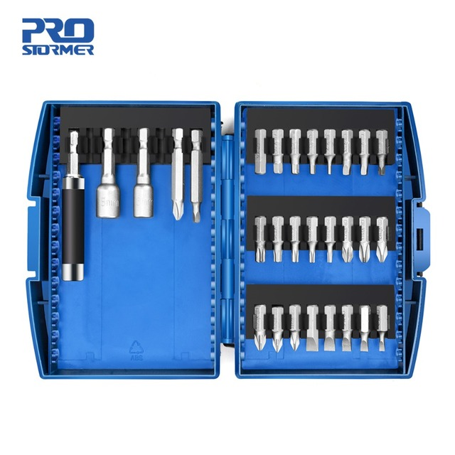 PROSTORMER 29pc Screwdriver Bit & Nut Driver Set Phillips/Slotted Bits With Magnetic Multi Tool Home Appliances Repair Hand Tool 2