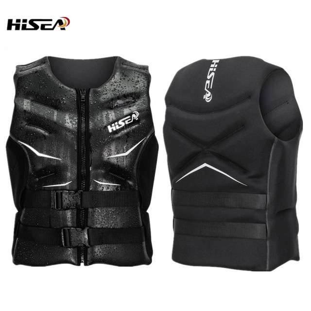 Hisea Surfing Drifting Life Vest Motorboat Fishing Swimming Buoyancy For Adult Life Jacket Water Sports Safety Floating Swimwear