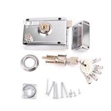 Exterior Door Lock Kit Security Anti-theft Locks with Multip