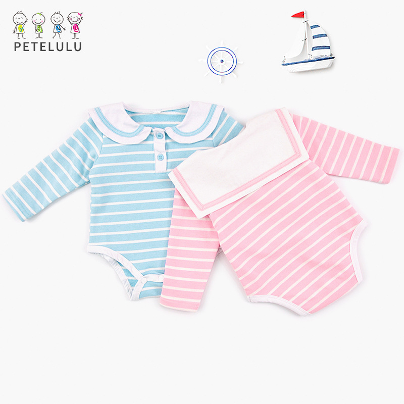 2018 Baby Bodysuit Clothes Striped Body Toddler For Newborn Baby Clothes Bodysuit Infant ...