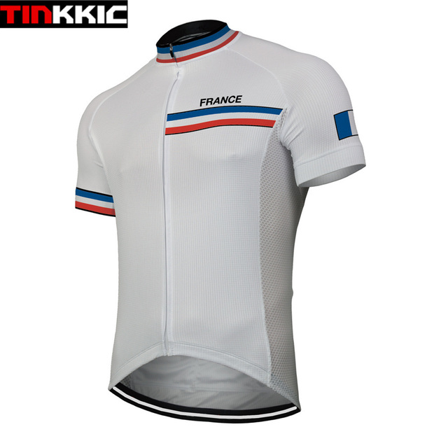 555a82061d4 France Short Sleeve Men s Cycling Jersey Bicycle Cycle Maillot Ciclismo Mtb  Bike Cycling Clothing Breathable Quick dry  XT-092