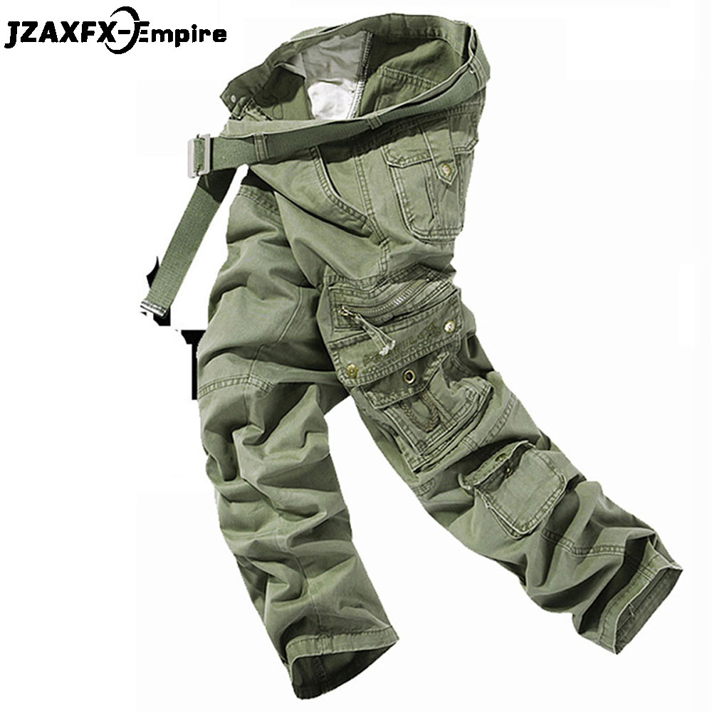 New Arrival Men Military Tactical Cargo Pants Army Green Trousers Top Quality Multi-Pocket Mens Tactical Pants