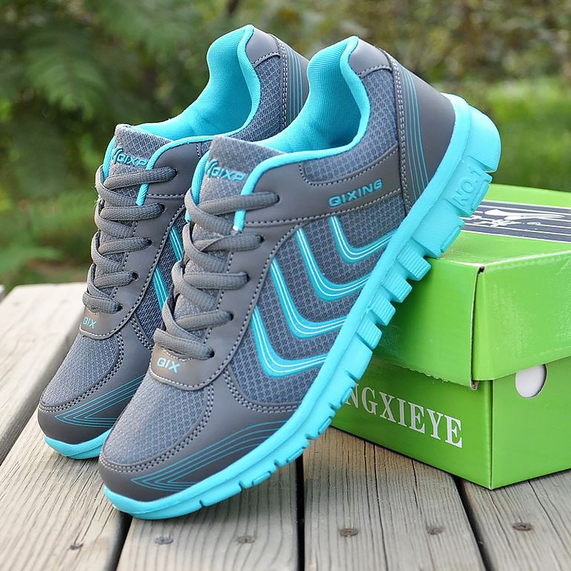 Sneakers women shoes 2019 new fashion solid breathable mesh casual shoes woman flats shoes lace-up women sneakers tenis feminino