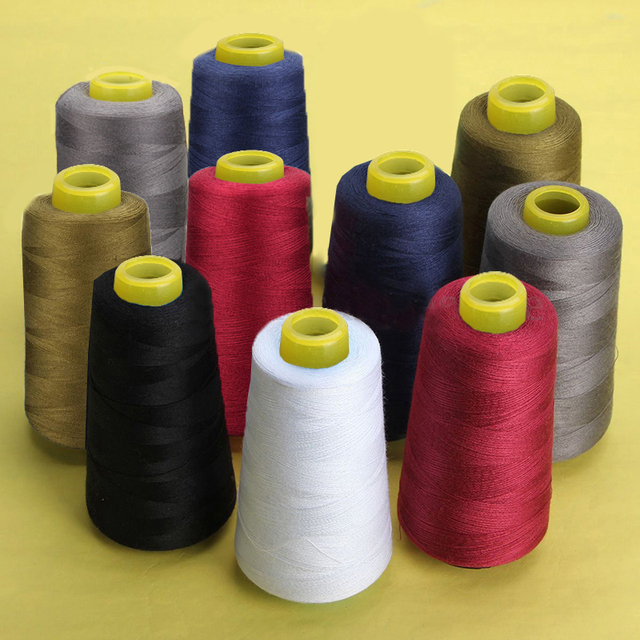 Colorful 3000 Yards Sewing Thread Good Quality Embroidery Sewing Thread Sewing Machine Accessories  #XN951