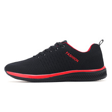 2019 New Spring Unisex Lightweight Sneakers Breathable Casual Shoes Mesh Men Lac-up Comfortable Walking Shoes Zapatillas Hombre