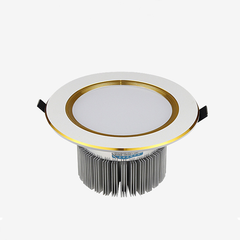 4pcs LED Recessed Downlight Round Panel Ceiling Lamp Aluminum 5W 7W 9W 12W 15W 18W Warm /Cold White Indoor Home Lighting Fixture
