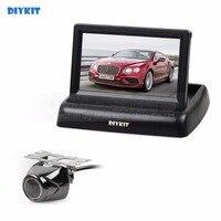 DIYKIT 4 3 Inch Car Reversing Camera Kit Back Up Car Monitor LCD Display HD Security
