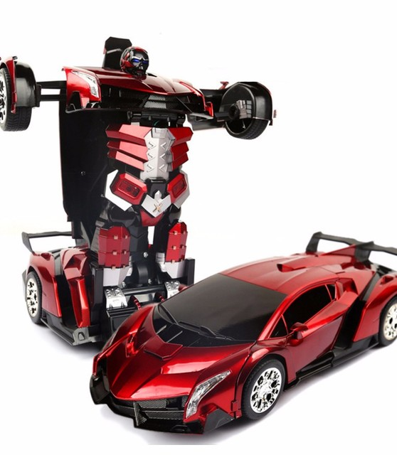 1 16 Big Size Suv The Autobots A Remote Control Car Key Deformation
