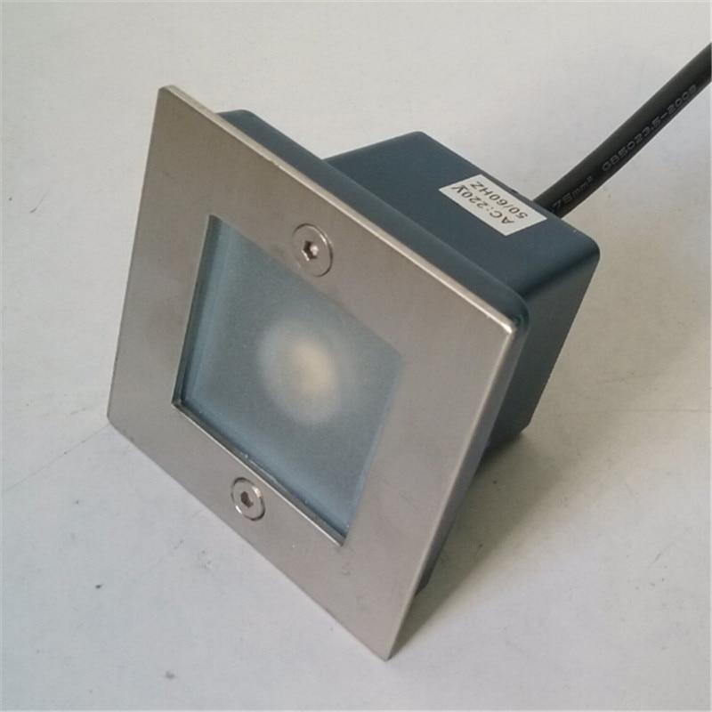 Ingyenes házhozszállítás 3W CE & RoHS AC85-265V LED kültéri - Kültéri világítás