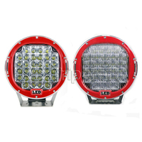 Super Bright 9inch 96W LED Work Light Spot Flood Fog Offroad 4x4 Driving Lamp For Motorcycle