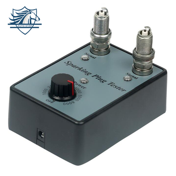 Dual Hole Car Spark Plug Tester Ignition Plug Analyzer Diagnostic Tool Automotive Spark Plug Detector goofit blue high performan motorcycle spark plug a7tc h058 034