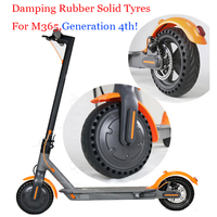 Shock Absorber Porous Damping Tyres Wheels For Xiaomi Mijia M365 Scooter Skateboard Solid Hole Tires Avoid