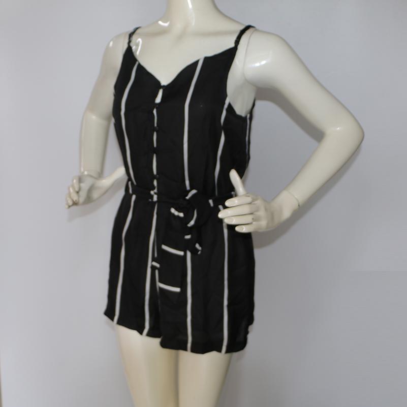 HTB1k7cnQFXXXXXKXVXXq6xXFXXX4 - Sexy Black and White Striped Playsuit Summer PTC 147