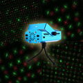 Mini LED Stage Laser Projector Voice control Laser Pointer Night Club DMX Stage Light Show Party DJ Disco Xmas Pattern Lighting