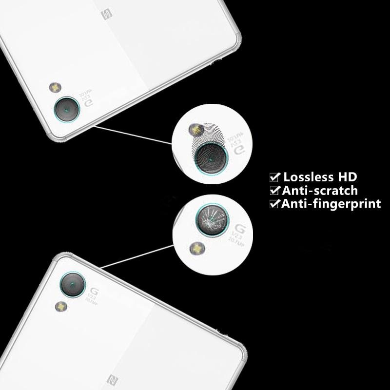 Back Camera Lens Tempered Glass Film For Sony Xperia Z1 Z2 Z4 Z5 glass film for Sony Lvy C6903 C6906 Camere Lens Protector Films