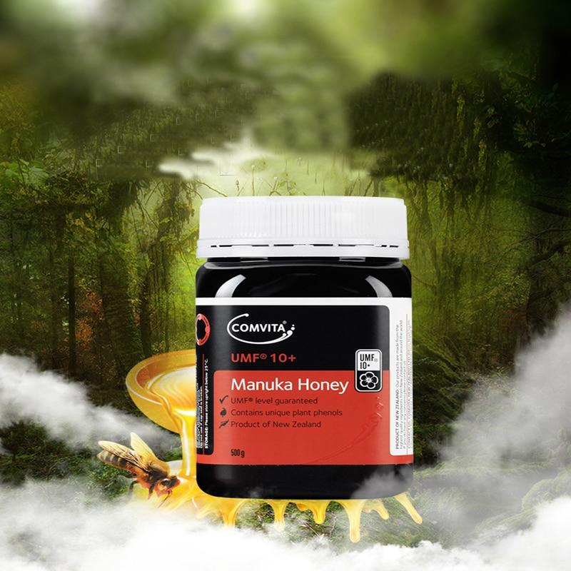 Original NewZealand Comvita Manuka Honey UMF10+500g Digestive Immune Health Respiratory System Cough Sooth Coughs Sore Throat