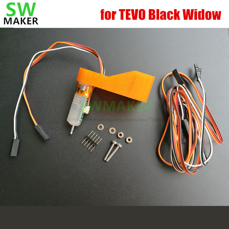 SWMAKER Auto Bed Leveling Sensor TL Touch Sensor TL-Touch auto leveling for TEVO Black Widow 3D printer spare parts tl touch automatic bed leveling sensor bltouch for 3d printer