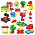 Free Shipping 3 Different Models 72Pcs Big Building Blocks Figure DIY Self-Locking Bricks Learn Education Best Tools For Kids