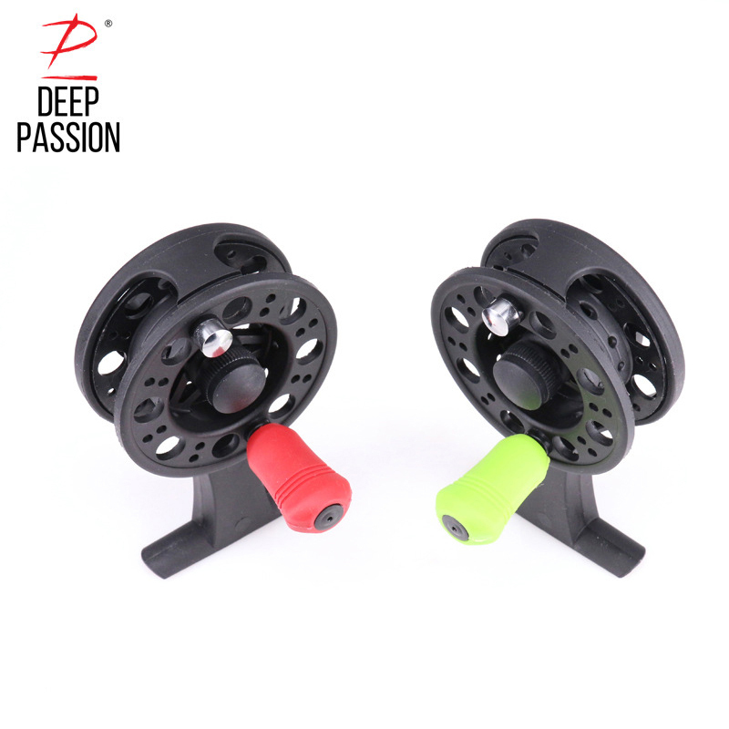 Ice Fishing Reels Bait Casting Spool Pre-Loading Spinning Wheel Spool Fish Line Raft Fishing Wheel Fishing Reel Saltwater Reels