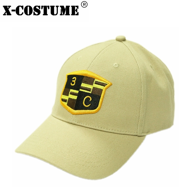 c7109a701 US $15.59 40% OFF|X COSTUME American Sniper Cap Baseball Hat Seal Team 3  Platoon Charlie Navy Seal Cosplay Accessories Men Women Summer Sun Hat-in  ...
