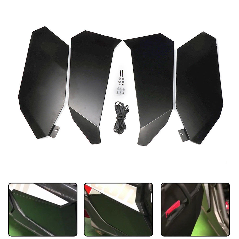 e66f289aab09 KEMiMOTO Four Doors Lower Door Inserts Panels UTV door for Can Am 2017 2018  X3 MAX XDS Turbo for Can Am X3 MAX XRS R Turbo-in ATV Parts   Accessories  from ...