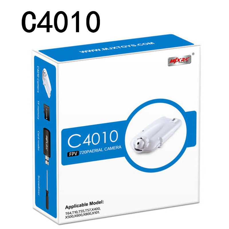 все цены на  C4010 FPV WIFI CAMERA 720P Real Time aerial camera for MJX X400 X600 X800 X101 Quadcopter RC Helicopter Drone VS C4005 C4008  онлайн