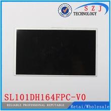 Новый 10.1 «дюймовый Планшеты корпус SL101DH164FPC-V0 ЖК-дисплей дисплей Экран планшета Сенсор Замена Бесплатная доставка