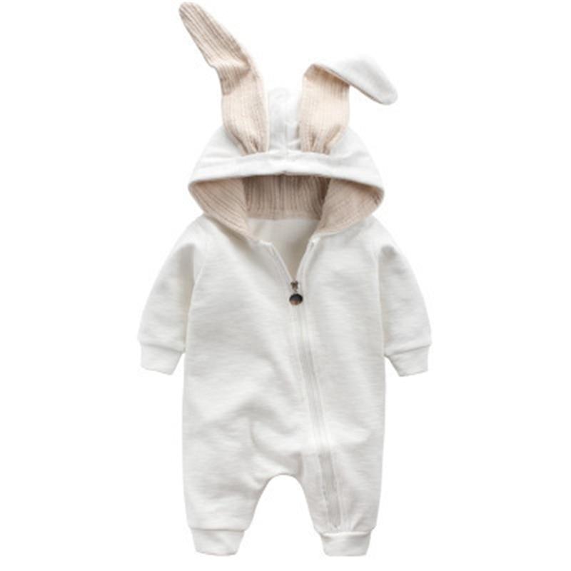 Cotton Baby Girl Clothes Wiosna Baby Rompers Cute Baby Boy Odzież - Odzież dla niemowląt - Zdjęcie 3